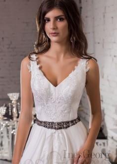 Luxusné moderné spoločenské šaty SPL1568