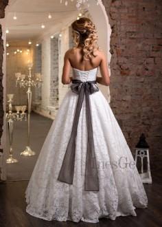 Luxusné čipkované spoločenské šaty SPL1573