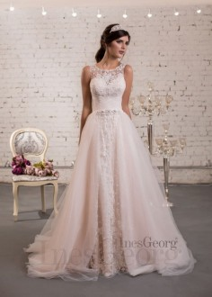 Luxusné čipkované spoločenské šaty SPL1575