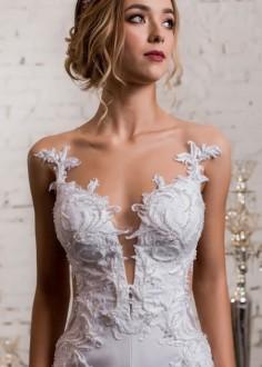 Luxusné moderné spoločenské šaty SPL1580