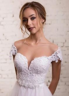 Luxusné čipkované spoločenské šaty SPL1585