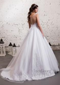 Luxusné čipkované spoločenské šaty SPL1588