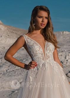 Luxusné krátke spoločenské šaty SPL-1314