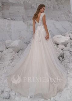 Exkluzívne krajkové spoločenské šaty SPL-1317