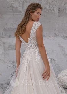 Luxusné celokrajkové spoločenské šaty SPL-1318