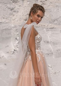 Luxusné krátke spoločenské šaty SPL-1326
