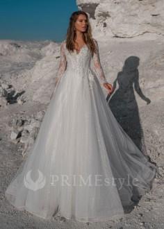 0eceb6b99622 Extravagantné celokrajkové spoločenské šaty SPL-1335 - lamode.sk