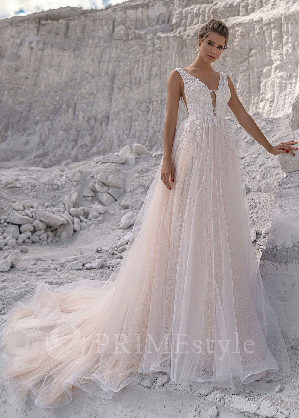 b64efc96c Exkluzívne spoločenské šaty SPL-1343 - lamode.sk