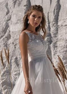 efa285799d46 Luxusné krajkové spoločenské šaty SPL-1348 - lamode.sk