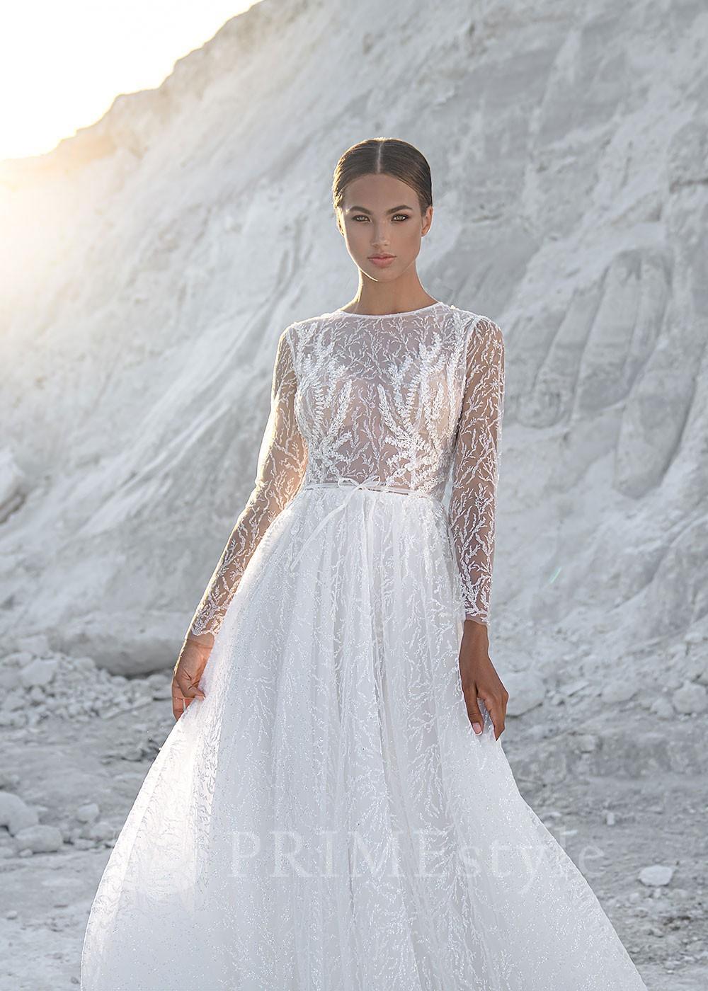 a80b48caf0a1 Luxusné čipkované svadobné šaty Doloris - lamode.sk