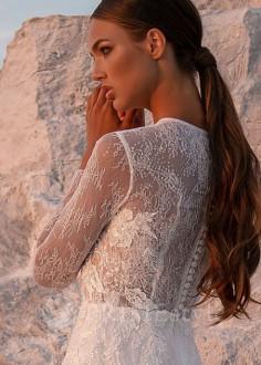 Luxusné čipkované svadobné šaty Grace