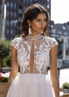 Romantické čipkované svadobné šaty Marlen