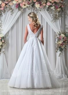 Luxusné dvojdielne svadobné šaty Adria