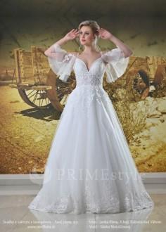 6b702b2d894a Netradičné dvojdielne svadobné šaty od značky InesGeorg® pre odvažné moderné  nevesty