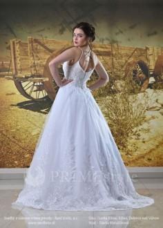 Luxusné čipkované svadobné šaty Paula - lamode.sk 7d5e0db0836