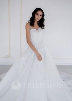 26c29e6222fd Exkluzívne bohato zdobené dvojdielne svadobné šaty s ramienkami od značky  InesGeorg®