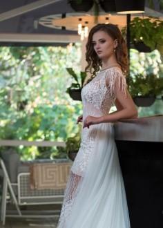 Extravagantné spoločenské šaty SPL1508