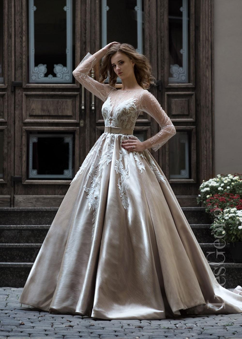 Luxusné čipkované svadobné šaty Jasmin