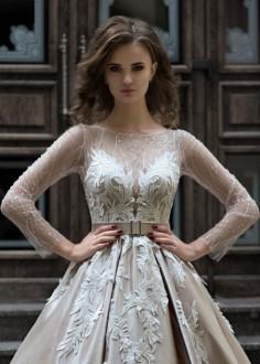 Luxusné krajkové spoločenské šaty SPL1511