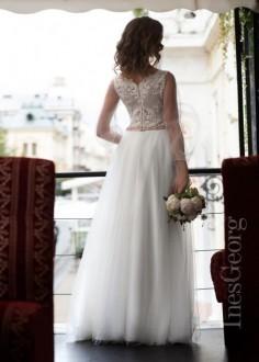Luxusné čipkované spoločenské šaty SPL1512