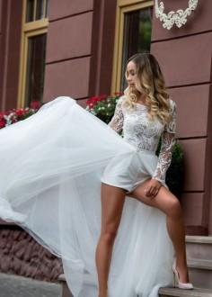 Luxusné čipkované spoločenské šaty SPL1529