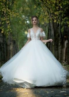 Luxusné čipkované spoločenské šaty SPL1534