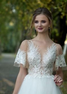 Luxusné čipkované spoločenské šaty SPL1535