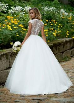 Luxusné čipkované spoločenské šaty SPL1536