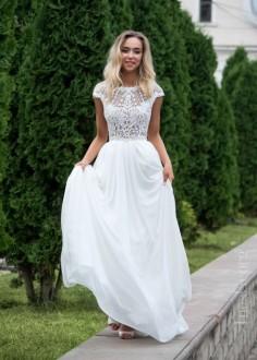 Exkluzívne čipkované spoločenské šaty SPL1537