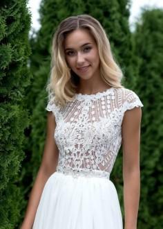Extravagantné krátke spoločenské šaty SPL1538