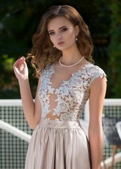 5367715e7e4f Luxusné čipkované spoločenské šaty SPL1542 - lamode.sk