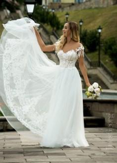 Luxusné čipkované spoločenské šaty SPL1543