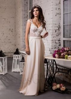 Exkluzívne čipkované spoločenské šaty SPL1549
