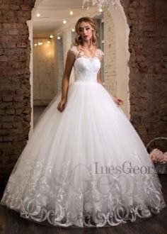 Luxusné čipkované spoločenské šaty SPL1550
