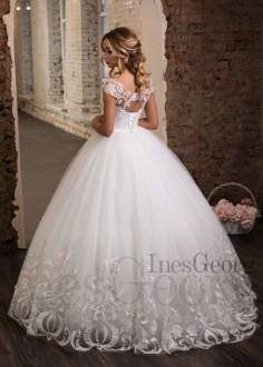 Luxusné celokrajkové spoločenské šaty SPL1551