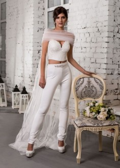 Exkluzívne celokrajkové spoločenské šaty SPL1553