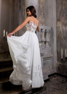 Luxusné čipkované spoločenské šaty SPL1555